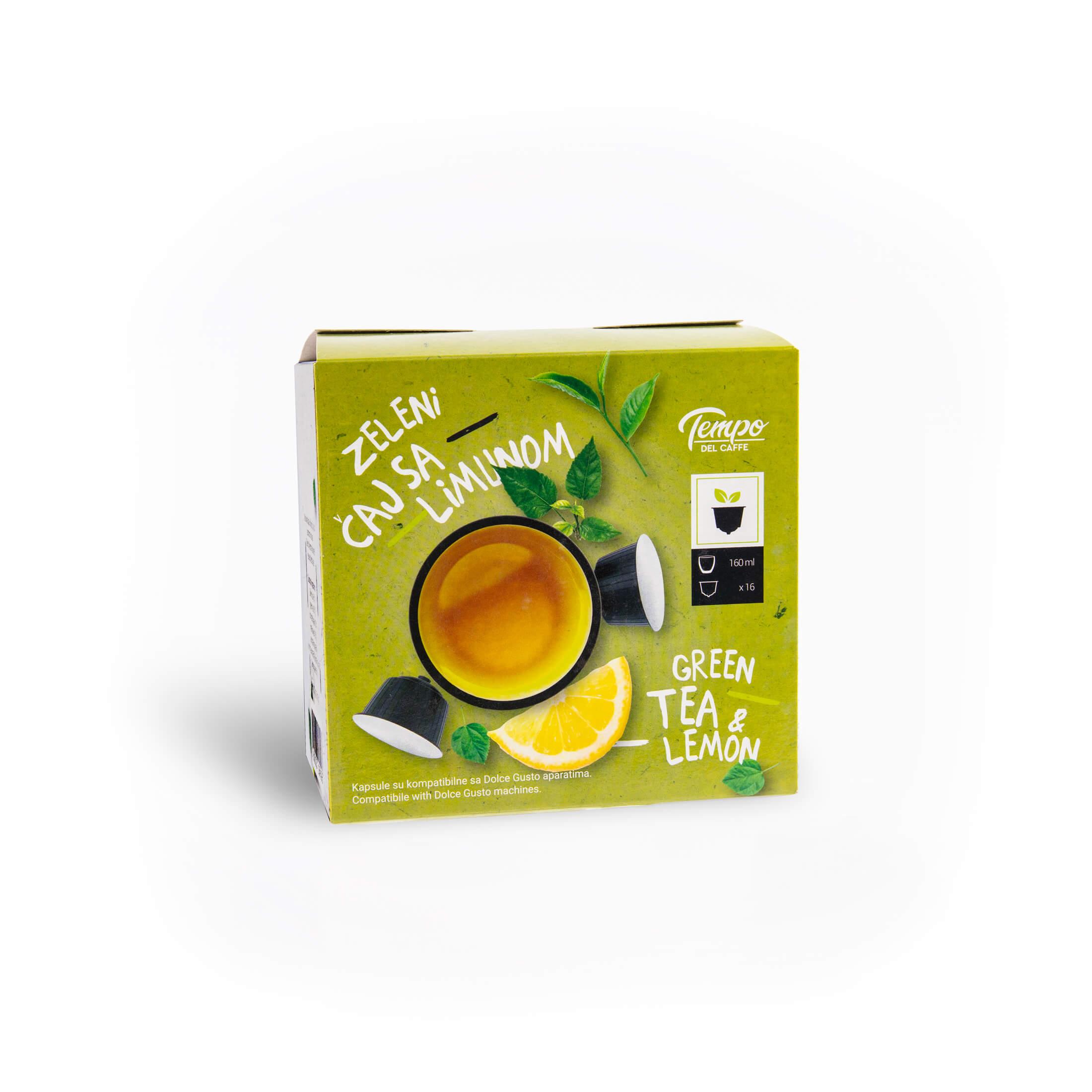 Zeleni čaj - Dolce Gusto kapsule